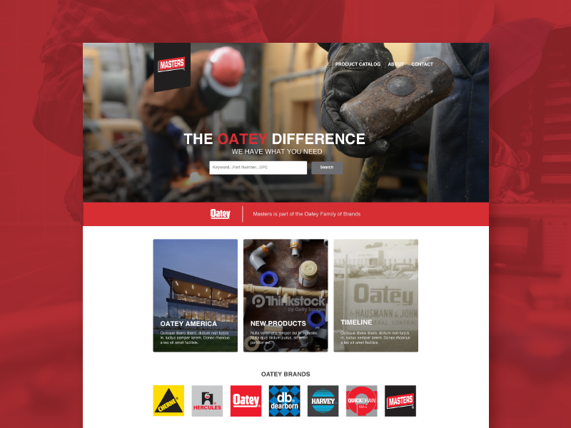 A sample image of our work for Oatey