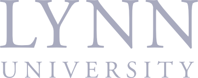 Lynn University logo (tinted)