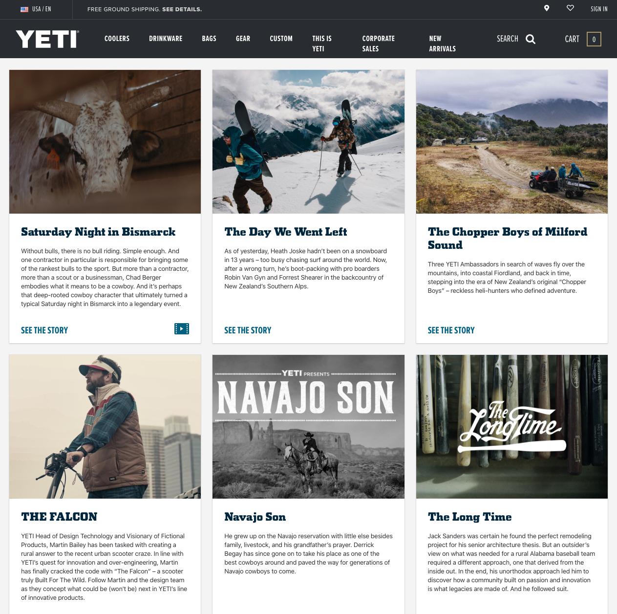 Yeti Stories