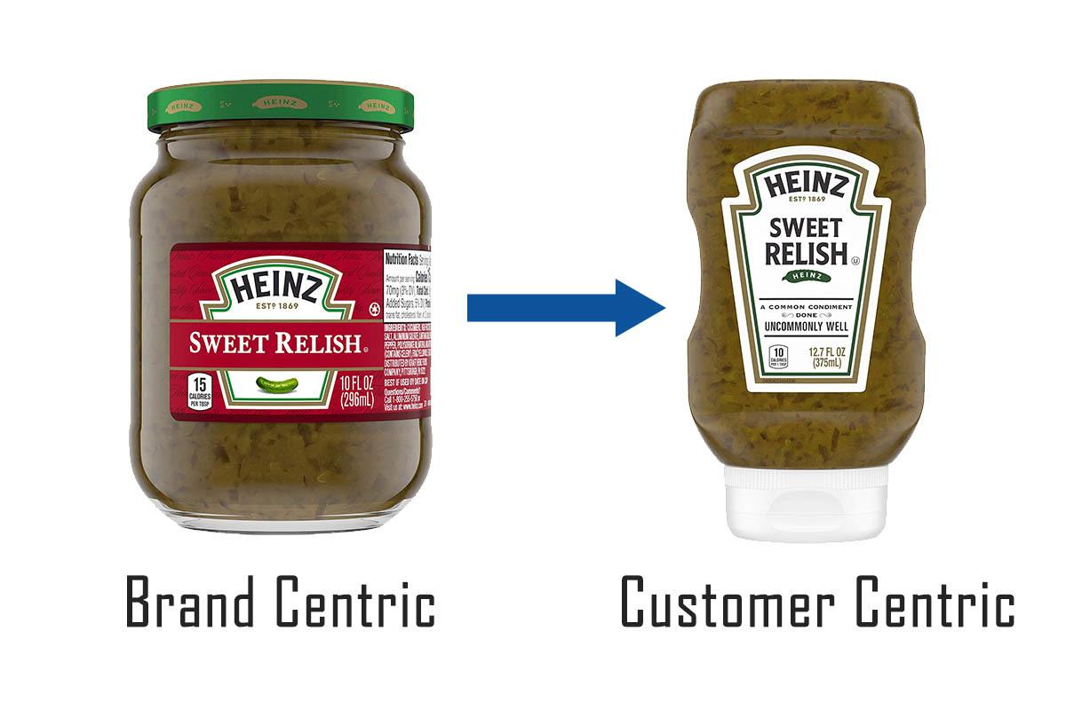 Brand vs Customer Centric Design